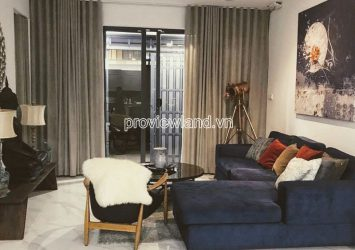 Villa Thao Dien for rent in with area of 6.5x15m 1 ground 3 floors full furniture