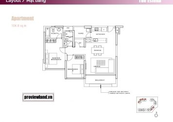 The Estella apartment 2 bedrooms for rent
