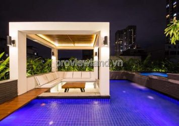 Villa in Thao Dien for rent 500m2 5BRs with high quality furniture