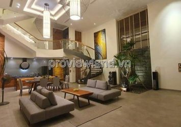 Nice villa for rent in Thao Dien with 5 bedrooms 6WC full furniture