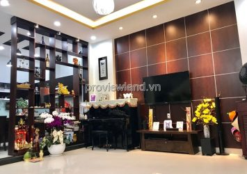 House for rent in Thao Dien District 2 7x11m 3 floors 4BRs fully furnished