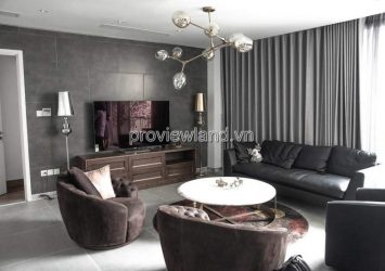 Duplex/ Penthouse Saigon Pearl apartment for rent 500sqm 3 floors 3 bedrooms