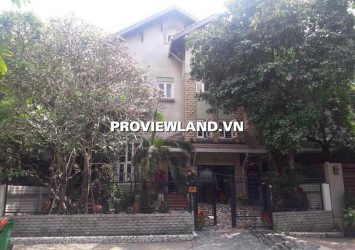 Villa Thao Dien for rent with area 320m2 6 bedrooms full furnished
