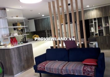 Central Garden District 1 apartment for rent  area 142m2 3 bedrooms fully furnished