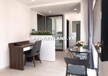 Serviced apartment for rent 1 bedroom full furniture in Binh Thanh District