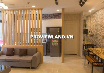 Vinhomes Bason serviced apartment for rent with 2 bedrooms view high-class interior river