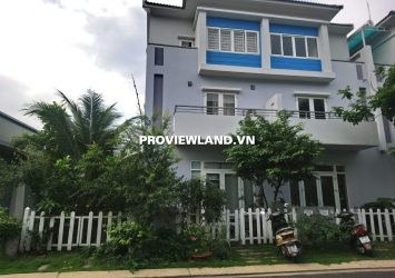 House for rent Mega Ruby District 9 1 ground 2 floors 3 bedroom fully furnished