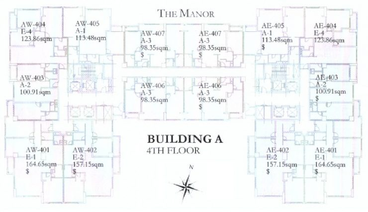 The Manor layout
