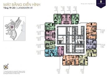 Vinhomes central park landmark81 layout 2brs 78m2