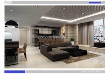 Cantavil apartment for rent Premier with area of 176sqm 4 bedrooms high floor
