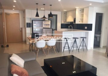 Apartment for rent at Masteri with 3 bedrooms high floor
