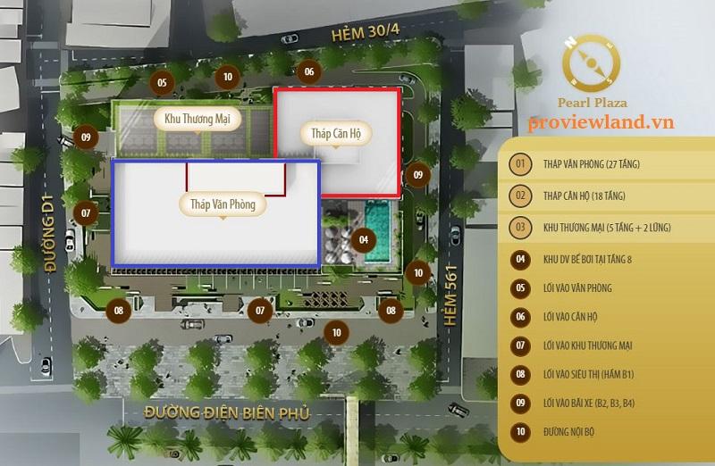 Pearl Plaza layout