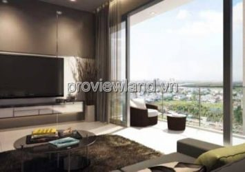 Apartment for rent in Estella Heights District 2 Block T2 high floor 179m2 4 bedrooms
