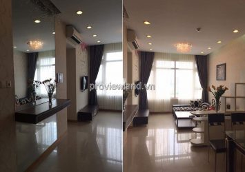 Apartment for rent in Saigon Pearl Ruby2 low floor 2 bedrooms