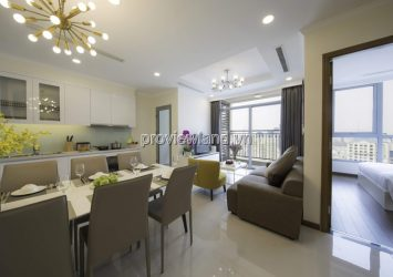 Vinhomes Central Park serviced apartment for rent 1-3 bedrooms has short term lease