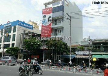 Nguyen Van Thu street front building for rent in District 1 to build 1 tunnel + 6 floors