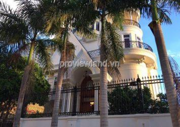 Villa Thao Dien for rent ward area 310sqm 5 bedrooms has pool and garden