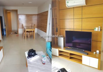 Masteri Thao Dien apartment for rent with 2 bedrooms high floor river view