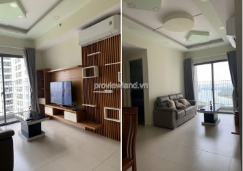 Masteri Thao Dien apartment for rent full furnished 2 bedrooms river view