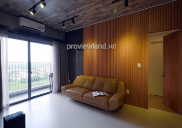 Masteri Thao Dien apartment for rent with 3 bedrooms and airy view