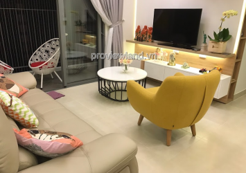 Apartment for rent in Masteri Thao Dien with 2 bedrooms high floor