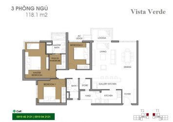 Vista Verde apartment for rent