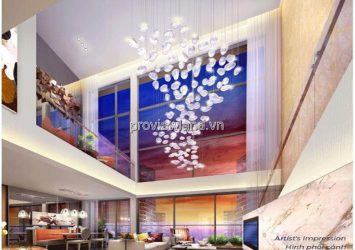 Duplex Q2 Thao Dien apartment for sale with nice design area 90m2 2 floors