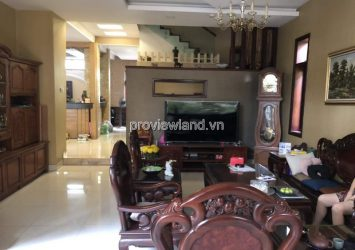 Villa for rent on Dang Tien Dong street 242m2 1 ground 2 floors