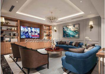 Vinhomes Villa for rent Golden River 1 cellar 1 ground 3 floors 4 bedrooms