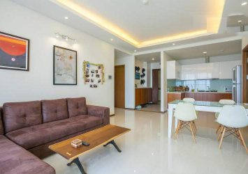 Apartment for rent in Thao Dien Pearl with 2 bedrooms