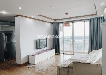 Apartment for rent in Fideco Thao Dien nice view with 3 bedrooms
