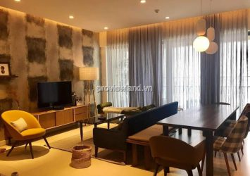 Selling Gateway Thao Dien apartment in high floor high class furniture