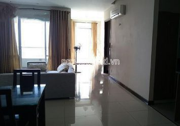 High floor apartment for rent at Hung Vuong Plaza 3 bedrooms