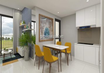 Master Phu An apartment needs to rent a 1-bedroom apartment with low floor