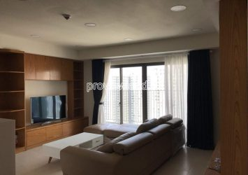 Apartment for rent at Masteri Thao Dien 3 bedrooms high floor