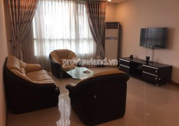 Apartment for rent at The Manor Binh Thanh low floor nice view