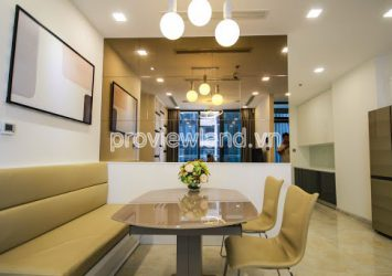 Vinhome Golden River apartment in District 1 for rent 2 bedrooms 67 m2