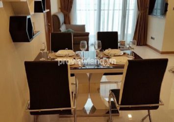 Vinhome Central Park has apartment for rent high floor 2 bedrooms