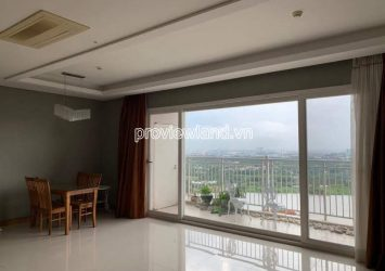 Xi Riverview apartment for rent 25th floor area of 145m2 including 3 bedrooms