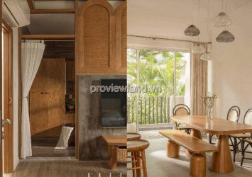 Palm Residence luxury villa 6x17m 3 floors 3 bedrooms fully furnished