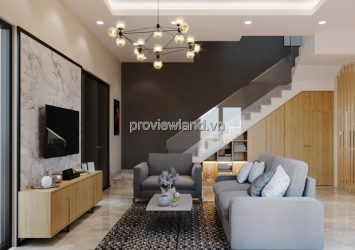 Palm Residence villa for rent in District 2 with 4 bedrooms fully furnished