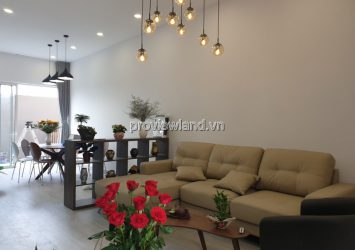 Palm Residence villa in District 2 for rent 2 floors 4 bedrooms