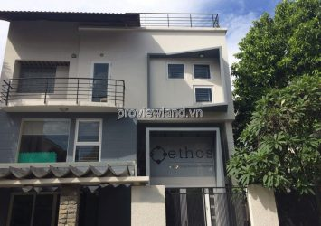 Villa for rent on Thao Dien street District 2 with 400m2 full furniture