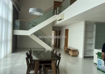 Duplex The Vista apartment for rent 2 floors river view 5 bedrooms
