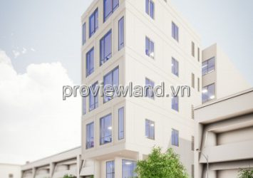 Office for rent in front of Tran Nao 7.5x30m 1 cellar of 6 floors