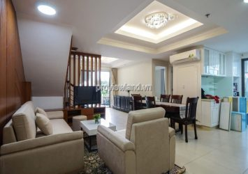 Duplex Masteri apartment for rent with 3 bedrooms full furnished