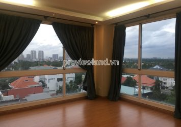 Apartment for rent in Fideco Riverview Thao Dien low floor with 3 bedrooms