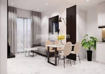Apartment with 1 bedroom for rent in Masteri An Phu high floor