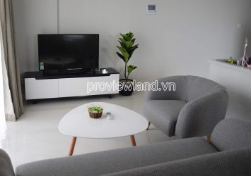 For rent apartment with 2 bedrooms high floor at Masteri An Phu river view
