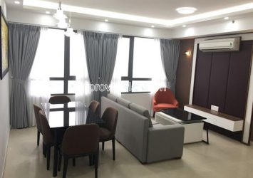 High floor apartment with 3 bedrooms in T1 Masteri Thao Dien need for rent